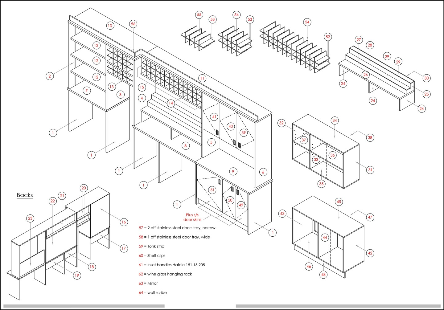 bar detail drawings pub and bar design 1 architectural autocad