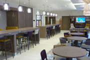 Lounge and Cafe area